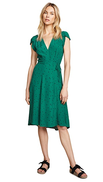 Rolla's Midi Dancer Wrap Dress