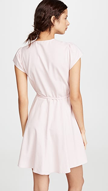 Rolla's Linen Dancer Wrap Dress
