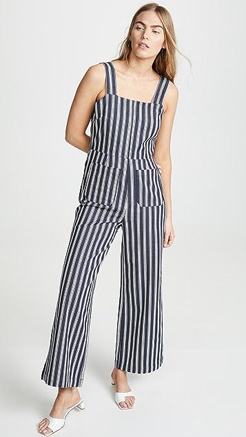Rolla's Sailor Salty Stripe Jumpsuit