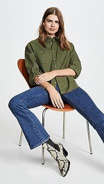 Utility Linen Shirt