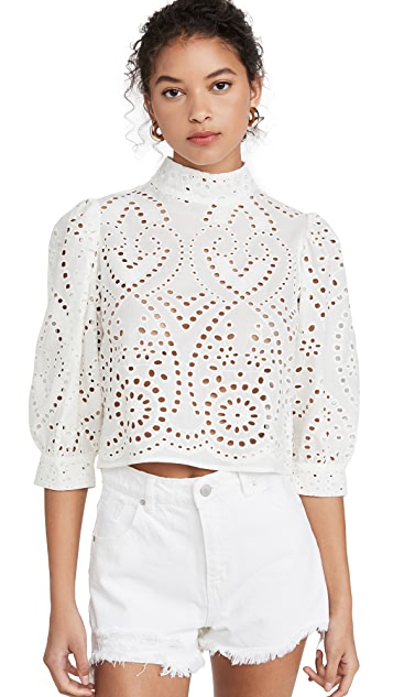 Rolla's Stephanie Lace Blouse