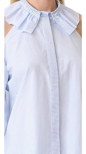 Romanchic Apple Shoulder Shirt