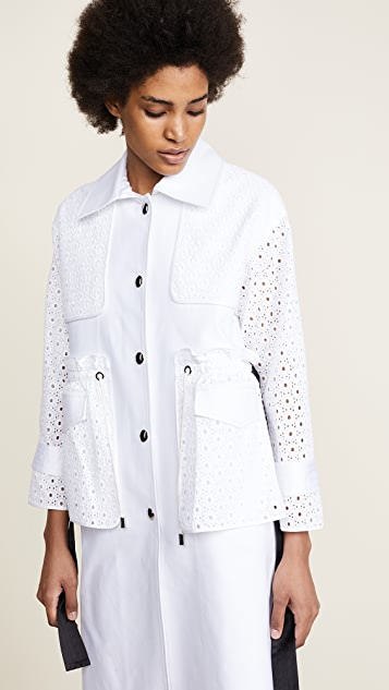 Romanchic So White Trench