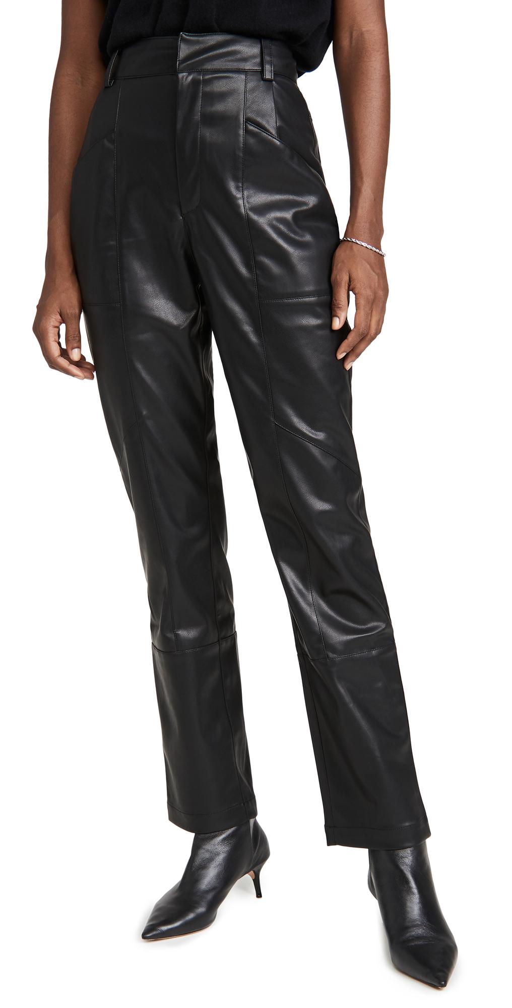 Ronny Kobo Katie Faux Leather Pants