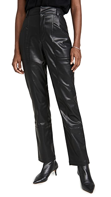 Ronny Kobo Katie Faux Leather Pants