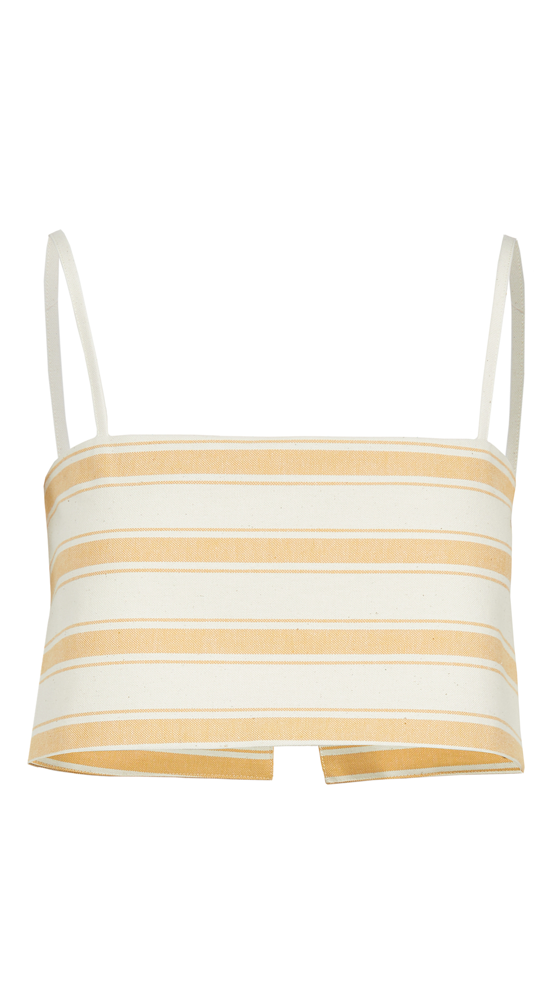 Rosie Assoulin Cottons EASY BANDEAU TOP