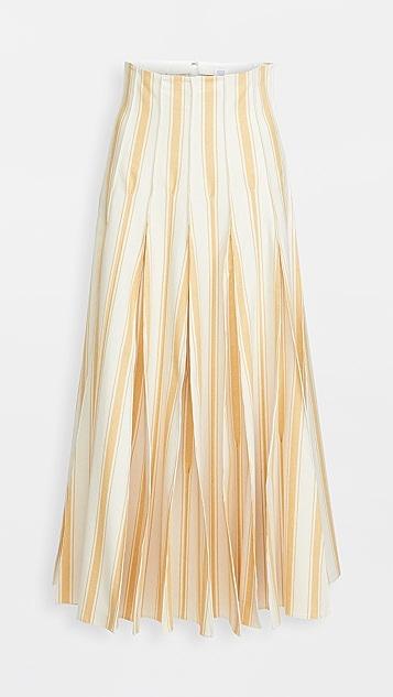 Rosie Assoulin Million Pleats Skirt