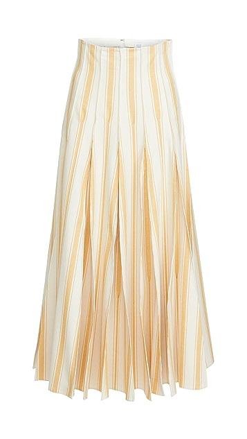 Rosie Assoulin Million 裥褶半身裙
