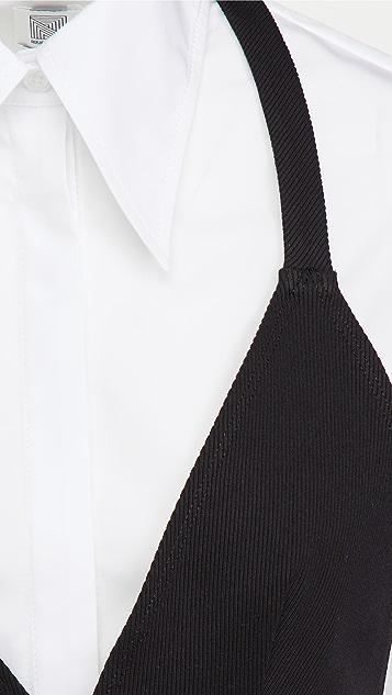 Rosie Assoulin 外翻式系扣上衣