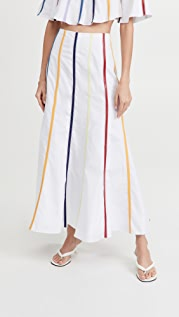 Rosie Assoulin Fluted Umbrella Skirt