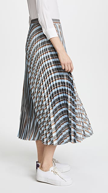 Rossella Jardini Striped Midi Skirt