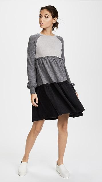 Rossella Jardini Knit Sweater Dress