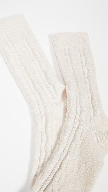 Rosie Sugden 开司米羊绒睡眠中筒袜