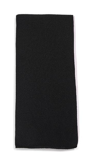 Rosie Sugden 罗纹羊绒围巾