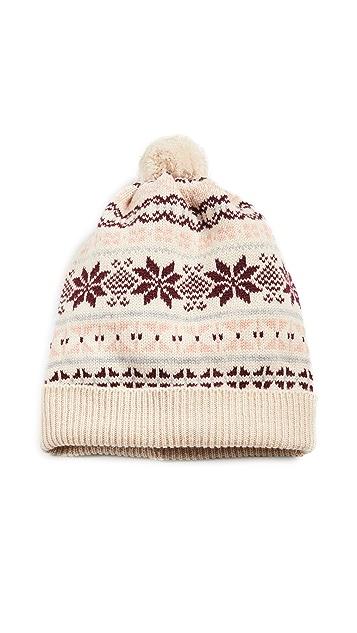 Rosie Sugden 得兰岛风印花针织帽