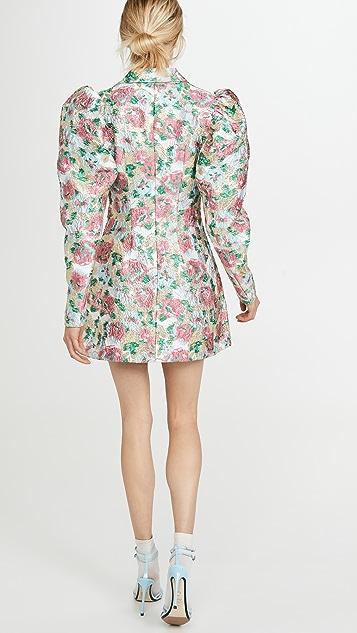 ROTATE Жаккардовое платье Carol