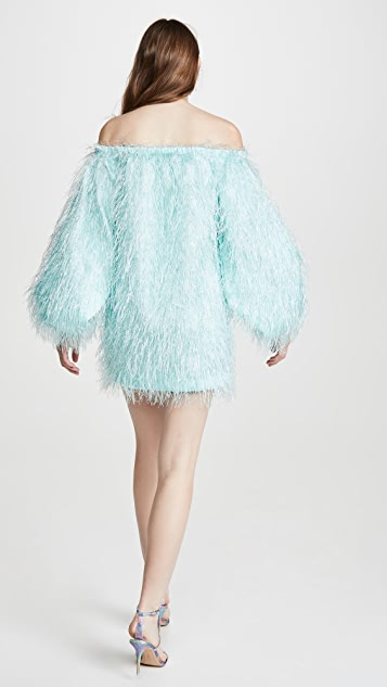 ROTATE Gloria Feather Dress