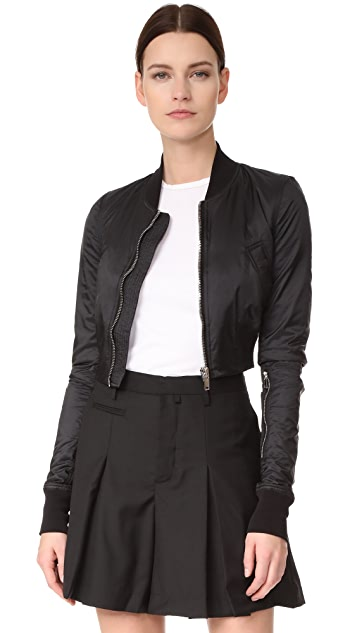 Rick Owens DRKSHDW Glitter Flight Jacket