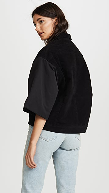Rick Owens DRKSHDW Jumbo Worker Short Sleeve Jacket