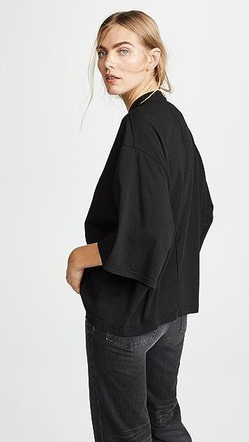 Rick Owens DRKSHDW 3/4 Full Sleeve T-Shirt