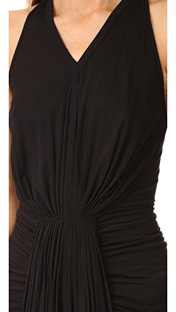 Rick Owens Lilies Pleated Tunic Top