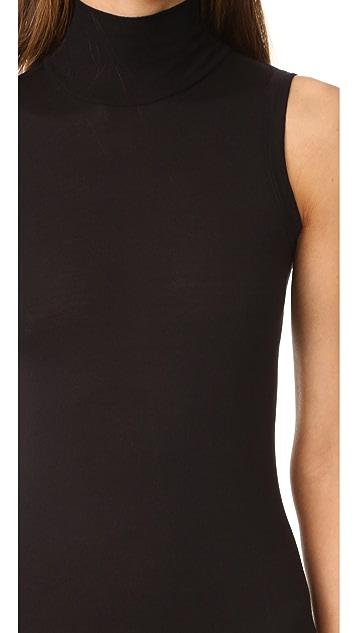 Rick Owens Lilies Платье без рукавов с воротником под горло