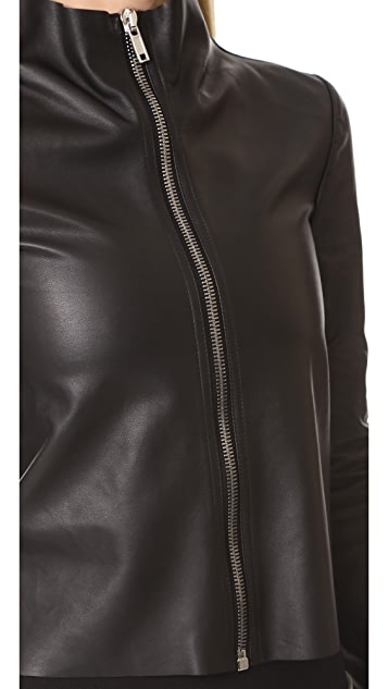 Rick Owens Lilies Leather Jacket
