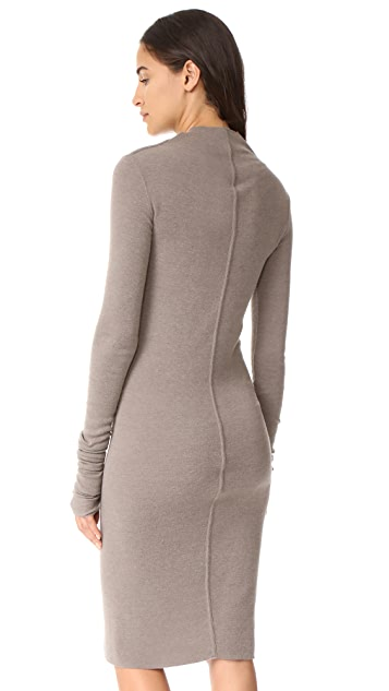 Rick Owens Lilies Long Sleeve Dress