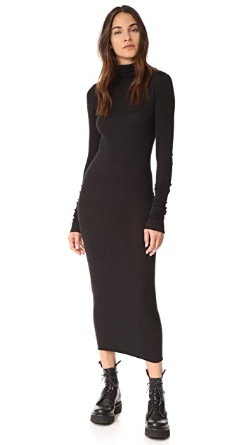 e3c01f54697a Rick Owens Lilies Long Sleeve Turtleneck Dress | SHOPBOP