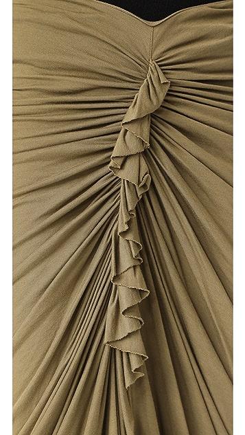 Rick Owens Lilies Gathered Skirt