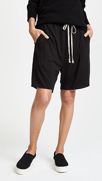 Rick Owens Lilies Drawstring Shorts