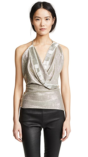 Rick Owens Lilies Sleeveless Wrap Top