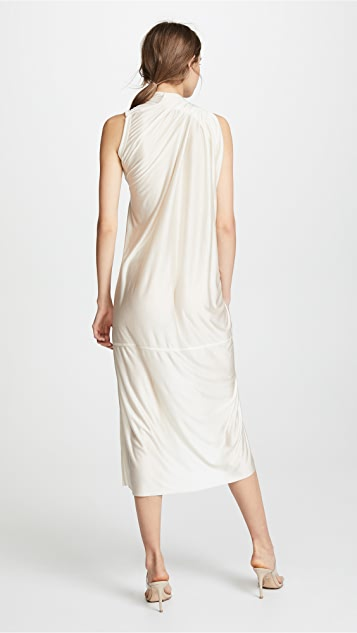 Rick Owens Lilies Sleeveless Wrap Gown