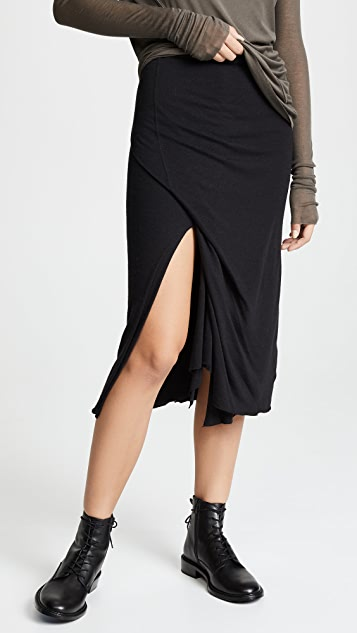 b284f2d26ad Ruched Midi Skirt