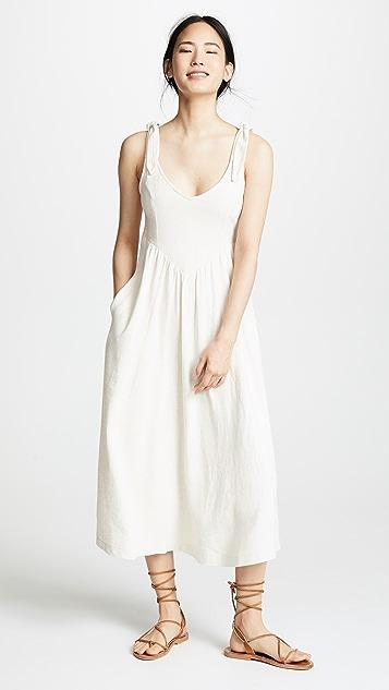 Rachel Pally Льняное платье Katy