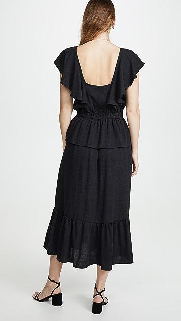 Rachel Pally Льняное платье Mariah