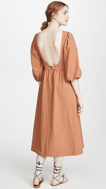 Rachel Pally Linen Canvas Roma Dress