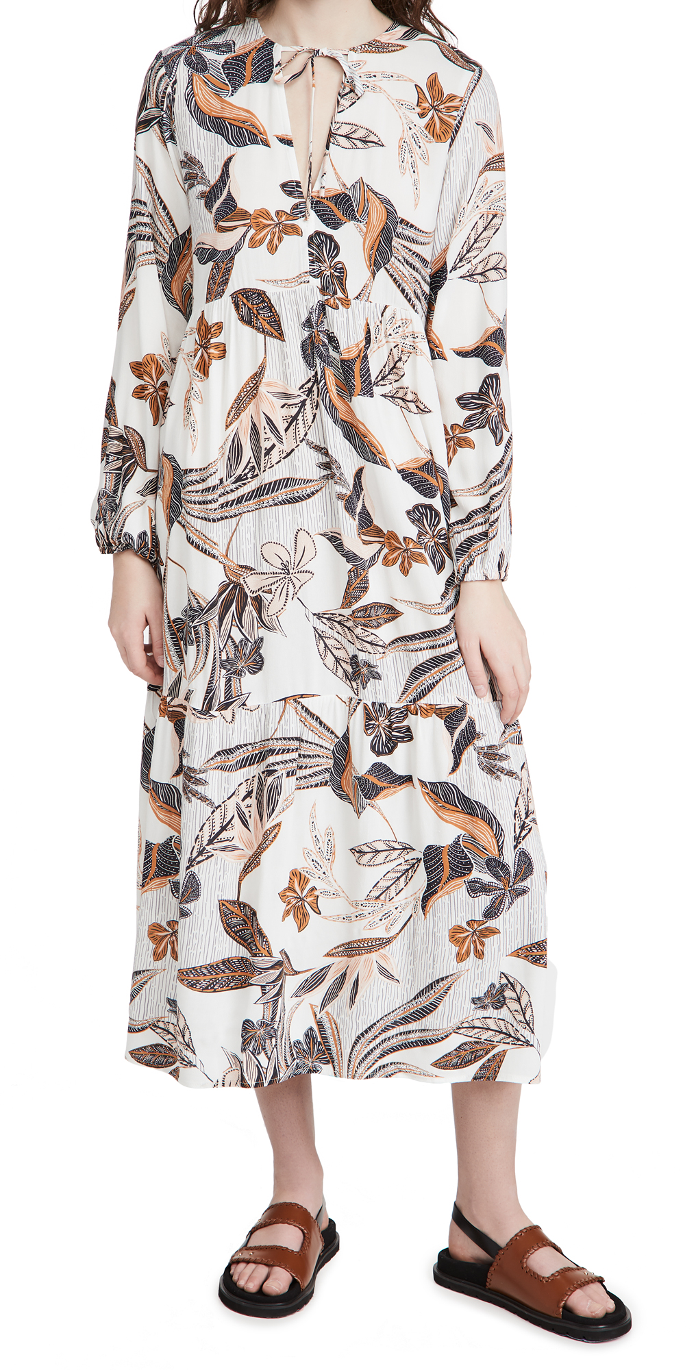 Rachel Pally Crepe Nadia Dress