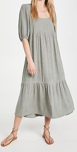 Rachel Pally - Mae 亚麻连衣裙