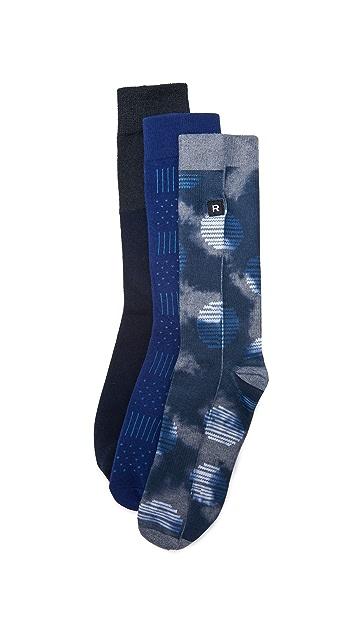 Richer Poorer 3 Pack Socks