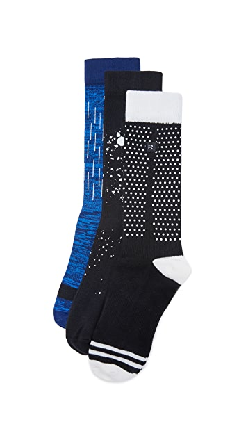Richer Poorer 3 Pack Performance Socks