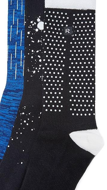 Richer Poorer 3 Pack Performance Socks