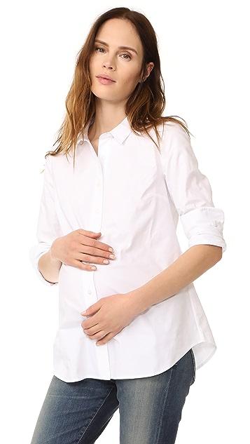 Rosie Pope Classic Maternity Shirt