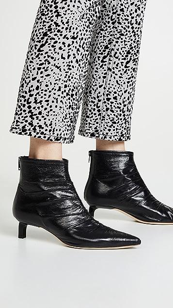 Rejina Pyo Erin 皱褶短靴