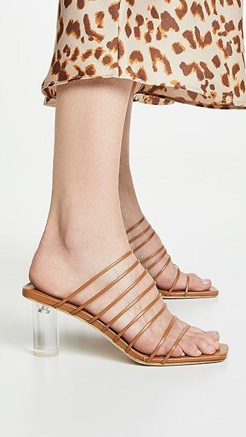 Rejina Pyo Сандалии без застежки на каблуках Zoe