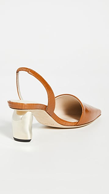 Rejina Pyo Conie Slingbacks 60mm