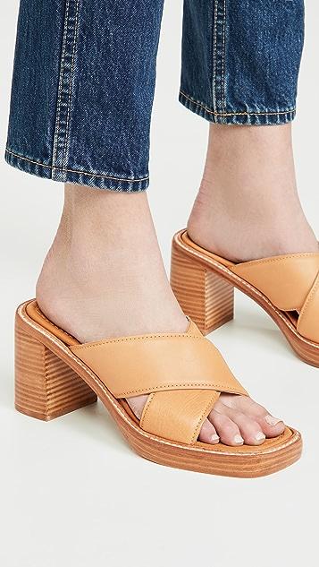 Rejina Pyo 80mm Donna 穆勒鞋