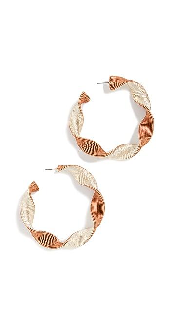 Rebecca De Ravenel Penelope Hoop Earrings