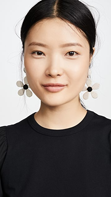 Rebecca De Ravenel Daisy Earrings