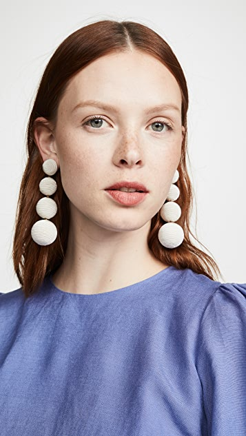 Rebecca De Ravenel Classic 4 Drop Earrings